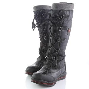 Cougar Canuck Black Waterproof Snow Winter Boots